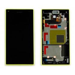 Bloc Avant ORIGINAL Jaune - SONY Xperia Z5 Compact - E5803 / E5823