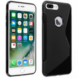Coque Silicone S-Line Noire - iPhone 7 Plus / iPhone 8 Plus