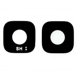 Vitre de Caméra Arrière ORIGINALE Noire - SAMSUNG Galaxy S6 Edge Plus - G928F