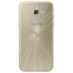 [Réparation] Vitre Arrière ORIGINALE Or - SAMSUNG Galaxy A5 2017 - A520F