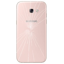 [Réparation] Vitre Arrière ORIGINALE Rose - SAMSUNG Galaxy A5 2017 - A520F