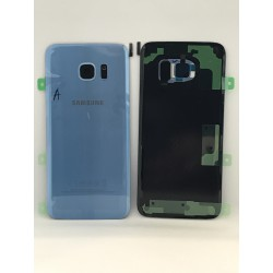Vitre Arrière ORIGINALE Bleu Corail - SAMSUNG Galaxy S7 Edge - G935F