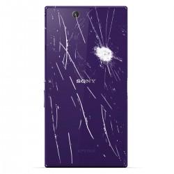 [Réparation] Vitre Arrière ORIGINALE Violet - SONY Xperia Z3 - D6603 / D6643 / D6653