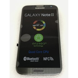 Bloc Avant ORIGINAL Gris - SAMSUNG Galaxy NOTE 2 - N7100