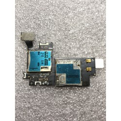 Lecteur Carte SIM / Carte Mémoire ORIGINAL - SAMSUNG Galaxy NOTE 2 - N7100