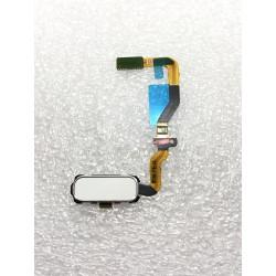 Bouton HOME Blanc + Lecteur d'empreinte Digital ORIGINAL - SAMSUNG Galaxy S7 - SM-G930F