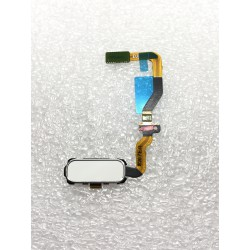 Bouton HOME Blanc + Lecteur d'empreinte Digitale ORIGINAL - SAMSUNG Galaxy S7 - SM-G930F