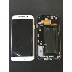 Bloc Avant ORIGINAL Blanc - SAMSUNG Galaxy S6 Edge - G925F