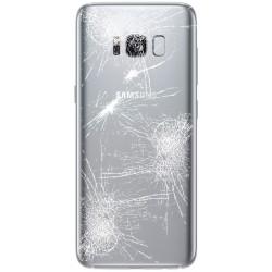 [Réparation] Vitre Arrière ORIGINALE Argent Polaire - SAMSUNG Galaxy S8+ - SM-G955F