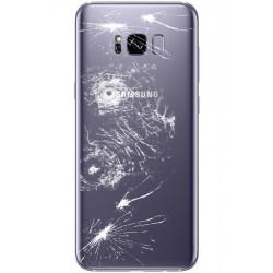 [Réparation] Vitre Arrière ORIGINALE Orchidée / Violet - SAMSUNG Galaxy S8+ - SM-G955F