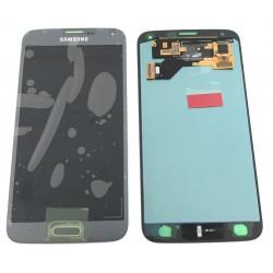 Bloc Avant ORIGINAL Gris Argent - SAMSUNG Galaxy S5 Neo - G903F