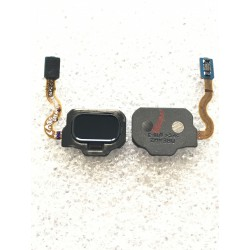 Bouton HOME Noir Carbone + Lecteur d'empreinte Digital ORIGINAL - SAMSUNG Galaxy S8 / SM-G950F - S8+ / SM-G955F