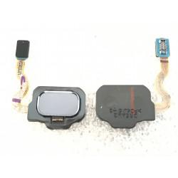 Bouton HOME Orchidée / Violet + Lecteur d'empreinte Digital ORIGINAL - SAMSUNG Galaxy S8 / SM-G950F - S8+ / SM-G955F