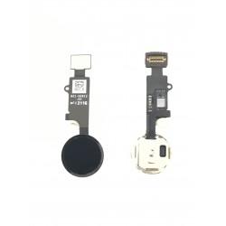 Nappe de bouton HOME Noir Complète + Touch ID ORIGINAL - iPhone 7 / 7 Plus