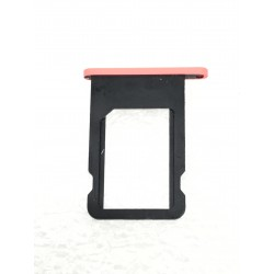 Tiroir de carte sim ORIGINAL - iPhone 5C Rouge