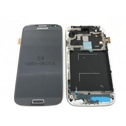 Bloc Avant ORIGINAL Noir / Bleu - SAMSUNG Galaxy S4 LTE - i9506