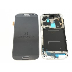 Bloc Avant ORIGINAL Noir / Bleu - SAMSUNG Galaxy S4 - i9505 / i9515