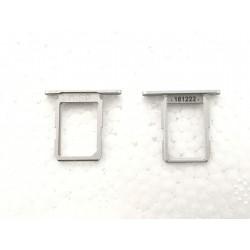 Tiroir de carte sim Argent ORIGINAL - SAMSUNG Galaxy S6 - G920F Blanc ou Bleu