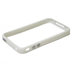 Bumper / Contour de Protection BLANC - iPhone 4 / 4S