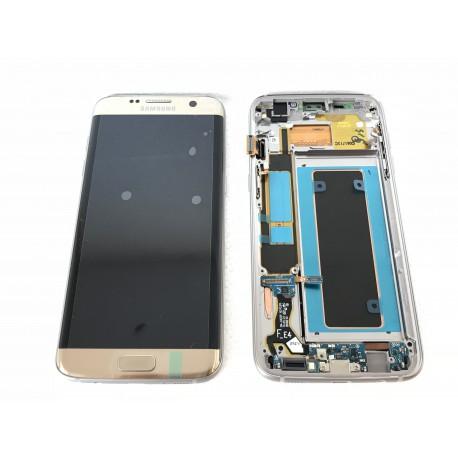 Bloc Avant ORIGINAL Or - SAMSUNG Galaxy S7 Edge - G935F
