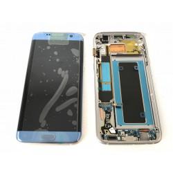Bloc Avant ORIGINAL Bleu Corail - SAMSUNG Galaxy S7 Edge - G935F
