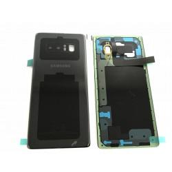 Vitre Arrière ORIGINALE Noire Carbone - SAMSUNG Galaxy Note8 / SM-N950F Simple SIM