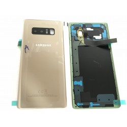 Vitre Arrière ORIGINALE OR Topaze - SAMSUNG Galaxy Note8 / SM-N950F