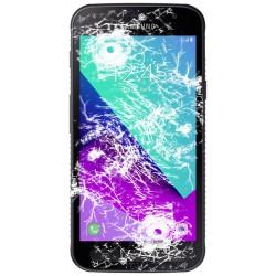 [Réparation] Vitre Tactile ORIGINALE + Adhésifs - SAMSUNG Galaxy XCover 4 - SM-G390F