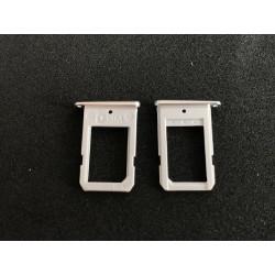 Tiroir de carte sim Argent ORIGINAL - SAMSUNG Galaxy S6 Edge - G925F Blanc ou Vert