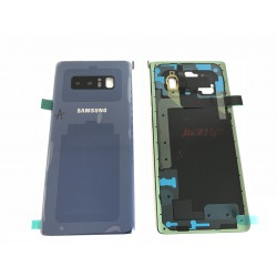 Vitre Arrière ORIGINALE Bleue Roi - SAMSUNG Galaxy Note8 / SM-N950F
