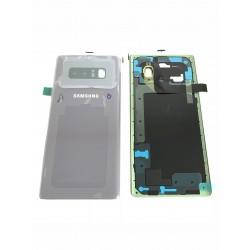 Vitre Arrière ORIGINALE Grise Orchidée - SAMSUNG Galaxy Note8 / SM-N950F Simple SIM