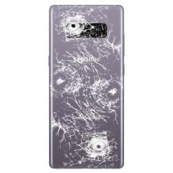 [Réparation] Vitre Arrière ORIGINALE Grise Orchidée - SAMSUNG Galaxy Note8 / SM-N950F