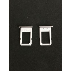 Tiroir de carte sim Gris ORIGINAL - SAMSUNG Galaxy S6 Edge Plus - G928F