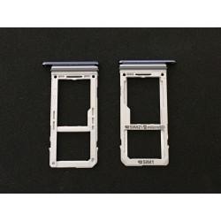 Tiroir de carte sim Bleu ORIGINAL - SAMSUNG Galaxy Note8 / SM-N950F / SM-N950FD