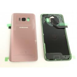 Vitre Arrière ORIGINALE Rose Poudré - SAMSUNG Galaxy S8 - SM-G950F
