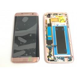 Bloc Avant ORIGINAL Or Rose - SAMSUNG Galaxy S7 Edge - G935F
