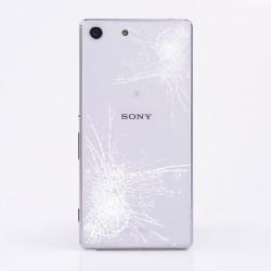 [Réparation] Vitre Arrière ORIGINALE Blanche - SONY Xperia M5 - E5603