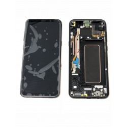 Bloc Avant ORIGINAL Noir Carbone - SAMSUNG Galaxy S8+ - SM-G955F