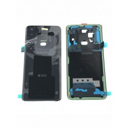 Vitre Arrière ORIGINALE Noire Carbone - SAMSUNG Galaxy S9 / SM-G960F/DS