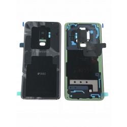 Vitre Arrière ORIGINALE Noire Carbone - SAMSUNG Galaxy S9+ / SM-G965F/DS Double SIM