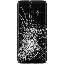 [Réparation] Vitre Arrière ORIGINALE Noire Carbone - SAMSUNG Galaxy S9 / SM-G960F/DS Double SIM