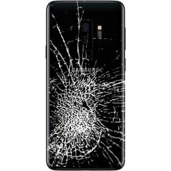 [Réparation] Vitre Arrière ORIGINALE Noire Carbone - SAMSUNG Galaxy S9+ / SM-G965F
