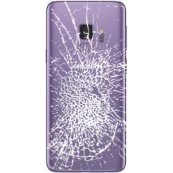 [Réparation] Vitre Arrière ORIGINALE Ultra Violet - SAMSUNG Galaxy S9 / SM-G960F Simple SIM