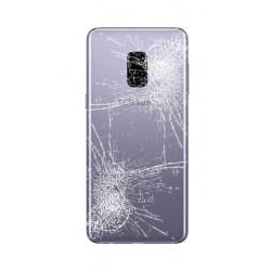 [Réparation] Vitre Arrière ORIGINALE Grise Orchidée / Violet - SAMSUNG Galaxy A8 2018 / SM-A530F Simple SIM