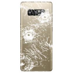 [Réparation] Vitre Arrière ORIGINALE OR Topaze - SAMSUNG Galaxy Note8 / SM-N950FD Double SIM