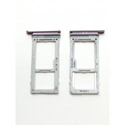 Tiroir de carte double sim et carte SD Ultra Violet ORIGINAL - SAMSUNG Galaxy S9 / SM-G960F