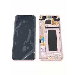 Bloc Avant ORIGINAL Rose Poudré - SAMSUNG Galaxy S8+ - SM-G955F