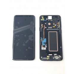 Ecran Complet ORIGINAL Noir Carbone - SAMSUNG Galaxy S9 / SM-G960F
