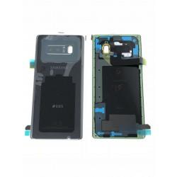 Vitre Arrière ORIGINALE Noire Carbone - SAMSUNG Galaxy Note8 / SM-N950FD