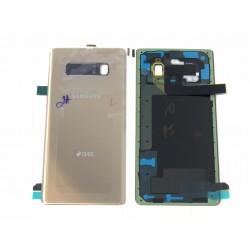 Vitre Arrière ORIGINALE OR Topaze - SAMSUNG Galaxy Note8 / SM-N950FD